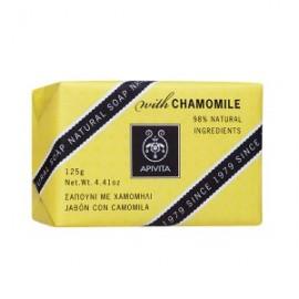 Apivita Natural Soap Σαπούνι με Χαμομήλι για τις ευαίσθητες επιδερμίδες 125gr