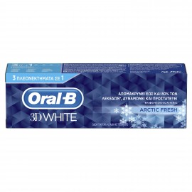 Oral-B 3D White Arctic Fresh Οδοντόκρεμα 75ml