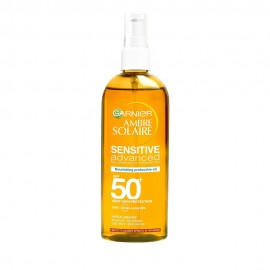 Garnier Ambre Solaire Λαδι Sensitive Advanced 50+ 150ml