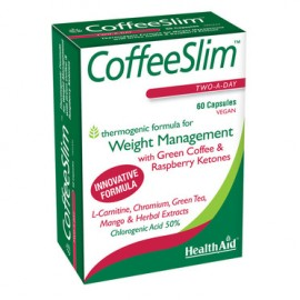 Health Aid Coffe Slim Πράσινος Καφές 60caps