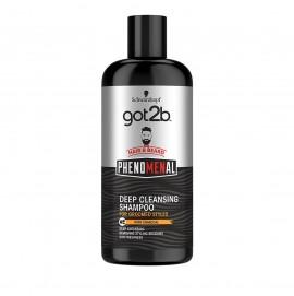 Got2B Phenomenal Shampoo Deep Cleansing Hair & Beard 250ml