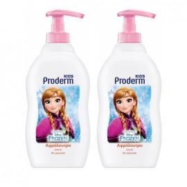 Proderm Kids Disney Frozen Παιδικό Αφρόλουτρο για Κορίτσια 400ml 1+1 ΔΩΡΟ