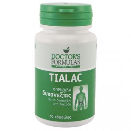 Doctor's Formulas Tialac Φόρμουλα Για Τη Δυσανεξία Στη Λακτόζη, 60 Κάψ.