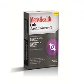 Omega Pharma Mens Health Lab Joint Endurance, Συμπλήρωμα Διατροφής για Οστά/Αρθρώσεις 40Caps