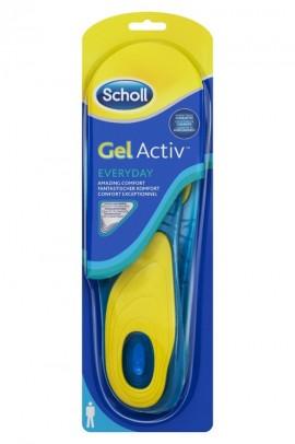 Scholl Gel Activ Everyday Ανδρικοί Ανατομικοί Πάτοι (Νο 42-48)