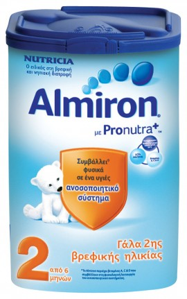 Nutricia Almiron 2 Eazypack, 6 Μηνών+ 800 gr