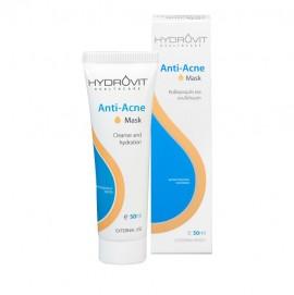 Hydrovit Anti-Acne Mask, Καθαριστική/Ενυδατική Μάσκα για Ακνεϊκά Δέρματα 50ml