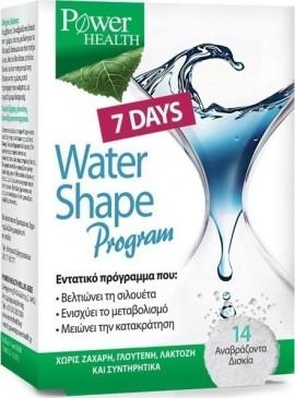 Power Health Water Shape 7 Days Program για Αδυνάτισμα, 14 Αναβράζοντα Δισκία