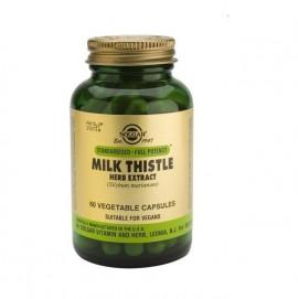 Solgar Milk Thistle Herb & Seed Extract , 60 Vegetable Capsules