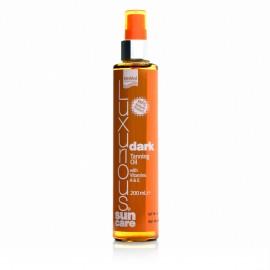 Intermed Luxurious Sun Care Dark Tanning Oil Ξηρό Λάδι Σώματος Έντονου Μαυρίσματος 200ml