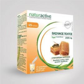 Naturactive Βασιλικός Πολτός (Υγρό), 15 φακελίσκοι