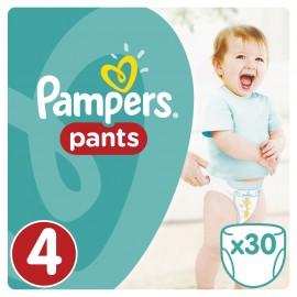 Pampers Pants No 4 (9-14kg) 30Τμχ