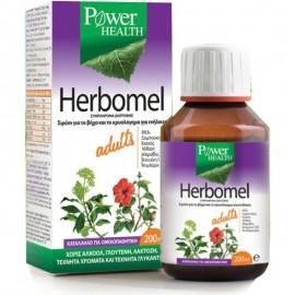 Power Health Herbomel Adults, Σιρόπι για το Βήχα & το Κρυολόγημα για Ενήλικες 200ml