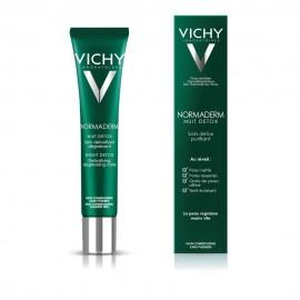 Vichy Normaderm Night Detox, Κρέμα Νύχτας κατά του Σμήγματος για Λιπαρές Επιδερμίδες 40ml