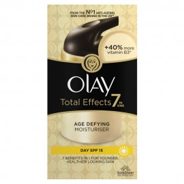 Olay Total Effects 7 in One Anti-Ageing Moisturizer Day SPF15, 50ml