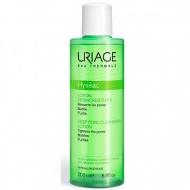 Uriage Hyseac Lotion Desincrutante, Λοσιόν Καθαρισμού για Λιπαρά Δέρματα με Ακμή, 200ml