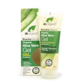 Dr Organic Aloe Vera Gel Double Strength Ενυδατικό Τζελ με Αλόη Βέρα 200ml