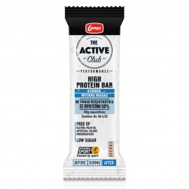 Lanes The Active Club High Protein Bar, Μπάρα Πρωτεϊνης 60gr