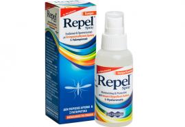 Repel Spray, Άοσμο Εντομοαπωθητικό με Υαλουρονικό 100ml