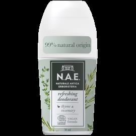 N.A.E Τονωτικό Αποσμητικό Roll-on, Οργανική Πιστοποίηση COSMOS  & Vegan φόρμουλα, 50ml