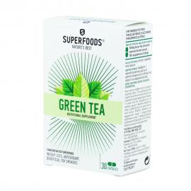 Superfoods Green Tea, Πράσινο Τσάι, Αδυνάτισμα-Αντιοξειδωτικό 30caps