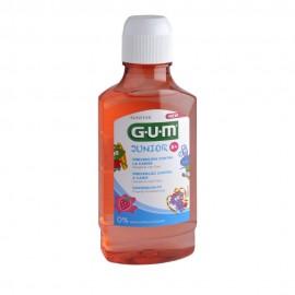 Gum Junior Στοματικό Διάλυμα με Γεύση Φράουλα 6+ 300ml