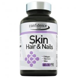 Alfa Choice Confidence Skin Hair & Nails, Συμπλήρωμα Διατροφής για Μαλλιά Νύχια και Δέρμα 60Tabs + 30 ΔΩΡΟ
