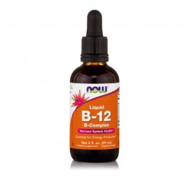 Now Foods Vitamin B-12 Complex Liquid  Vegetarian 2 oz. 59,2 ml