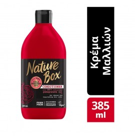 Nature Box Conditioner Pomegranate Oil για Βαμμένα Μαλλιά 385ml