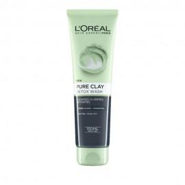 LOreal Paris Pure Clay Detox Wash Gel Καθαρισμου Με Αργιλο 150ml