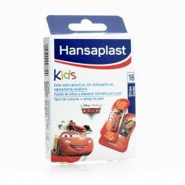 Hansaplast Cars Παιδικά Τσερότα 16 strips