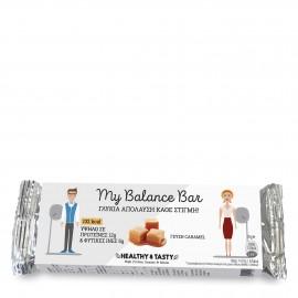 Power Health Healthy & Tasty My Balance Bar, Μπάρα με Γεύση Καραμέλα 35g