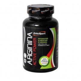 EthicSport Arginina Active Power Συμπλήρωμα Διατροφής Αργινίνης με Κιτρουλίνη,Β12 και Ψευδάργυρο 90 Δισκία