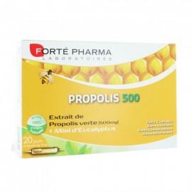 Forte Pharma Propolis 500, Συμπλήρωμα Διατροφής για Τόνωση και Ενέργεια 20amb x 10ml