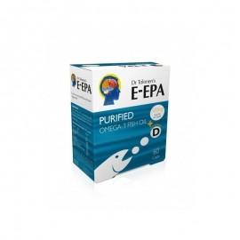 Dr Tolonen's E-Epa, Καθαρό Ωμέγα 3 Ιχθυέλαιο, 500mg/κάψουλα, 60caps