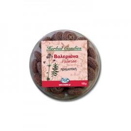 Inoplus Herbal Candies Valerian Καραμέλες Βαλεριάνα με Ηρεμιστική/Χαλαρωτική Δράση 70gr
