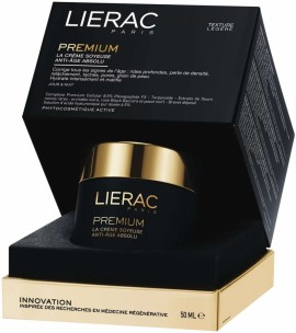 Lierac Premium La Creme Soyeuse, Μεταξένια Κρέμα Απόλυτης Αντιγήρανσης 50ml