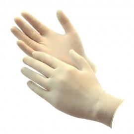 Alfa Gloves Γάντια Latex Μιας Χρήσεως Ελαφρώς Πουδραρισμένα 8-8,5 Large 100τεμάχια