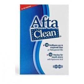 Uni-Pharma Afta Clean, 10 Επιθέματα για Στοματικά Έλκη