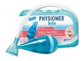 Physiomer Nasal Aspirator Kit Συσκευή Ρινικής Απόφραξης + 5 Προστατευτικά Φίλτρα