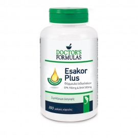Doctors Formulas Esakor Plus Φόρμουλα Ιχθυελαίων 180 Softgels