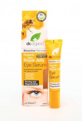 Dr.Organic Royal Jelly Eye Serum Ορός Ματιών με Βιολογικό Βασιλικό Πολτό 15ml