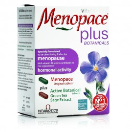 Vitabiotics Menopace Plus, Όλοκληρωμένο Συμπλήρωμα για την Εμμηνόπαυση 2x28Tabs