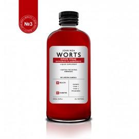 John Noa Worts, Σιρόπι Υγείας Κατάλληλο για Διαβητικούς με Άρωμα Κανέλα Νο3 250ml
