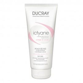 Ducray Ictyane Crème Emolliente, Μαλακτική Κρέμα για Ξηρό Δέρμα, Προσώπου-Σώματος 200ml