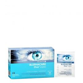 Helenvita Blephacare Duo Wipes, Μαντηλάκια Καθαρισμού και Απολύμανσης Ματιών 14pcs