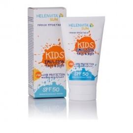 Helenvita Kids Emulsion SPF50 Face & Body Παιδικό Αντηλιακό Γαλάκτωμα για Πρόσωπο/Σώμα 150ml