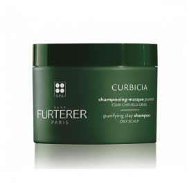 Rene Furterer Curbicia, Σαμπουάν - Μάσκα Καθαρισμού Με Απορροφητικό Άργιλο 200ml