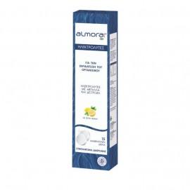 Almora Plus, Ηλεκτρολύτες με Μέταλλα και Δεξτροζη με Γεύση Λεμόνι 15 Αναβράζοντα Δισκία