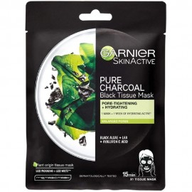 Garnier Pure Charcoal Black Tissue Mask 28gr